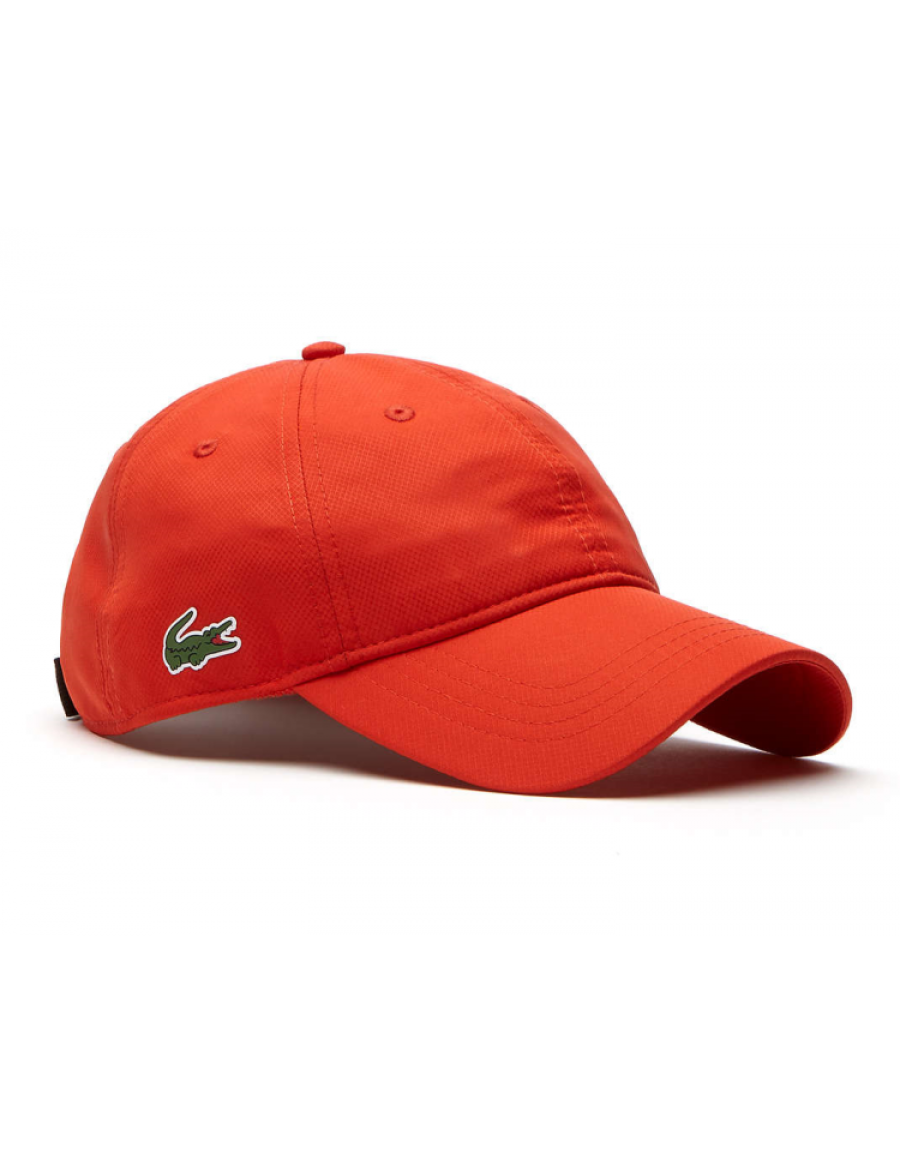 Lacoste pet - Sport cap diamond - etna orange