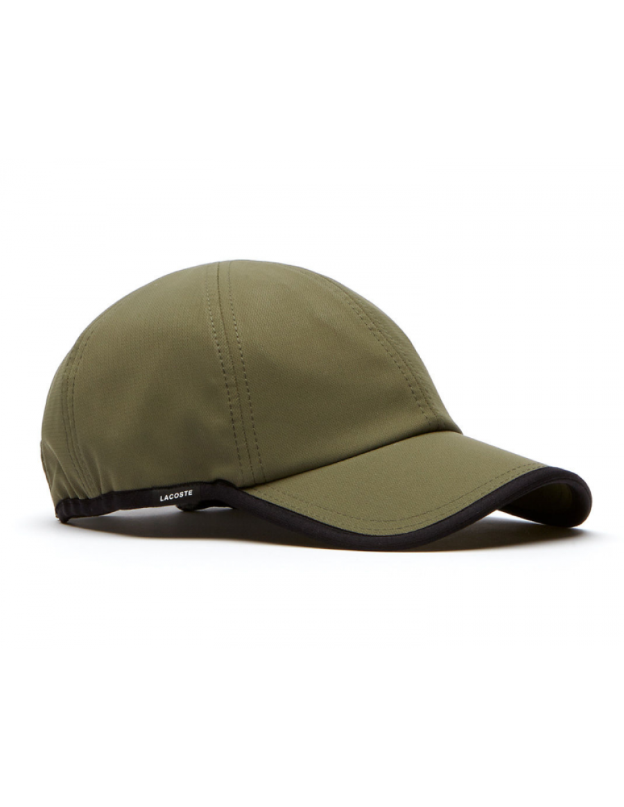 Lacoste pet - Texturized Sport cap - army