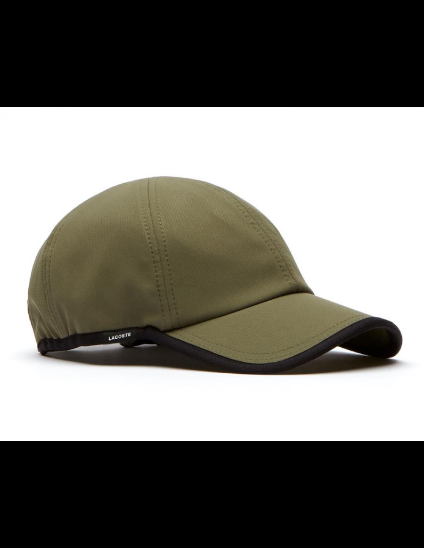 Lacoste pet - Texturized Sport cap - army