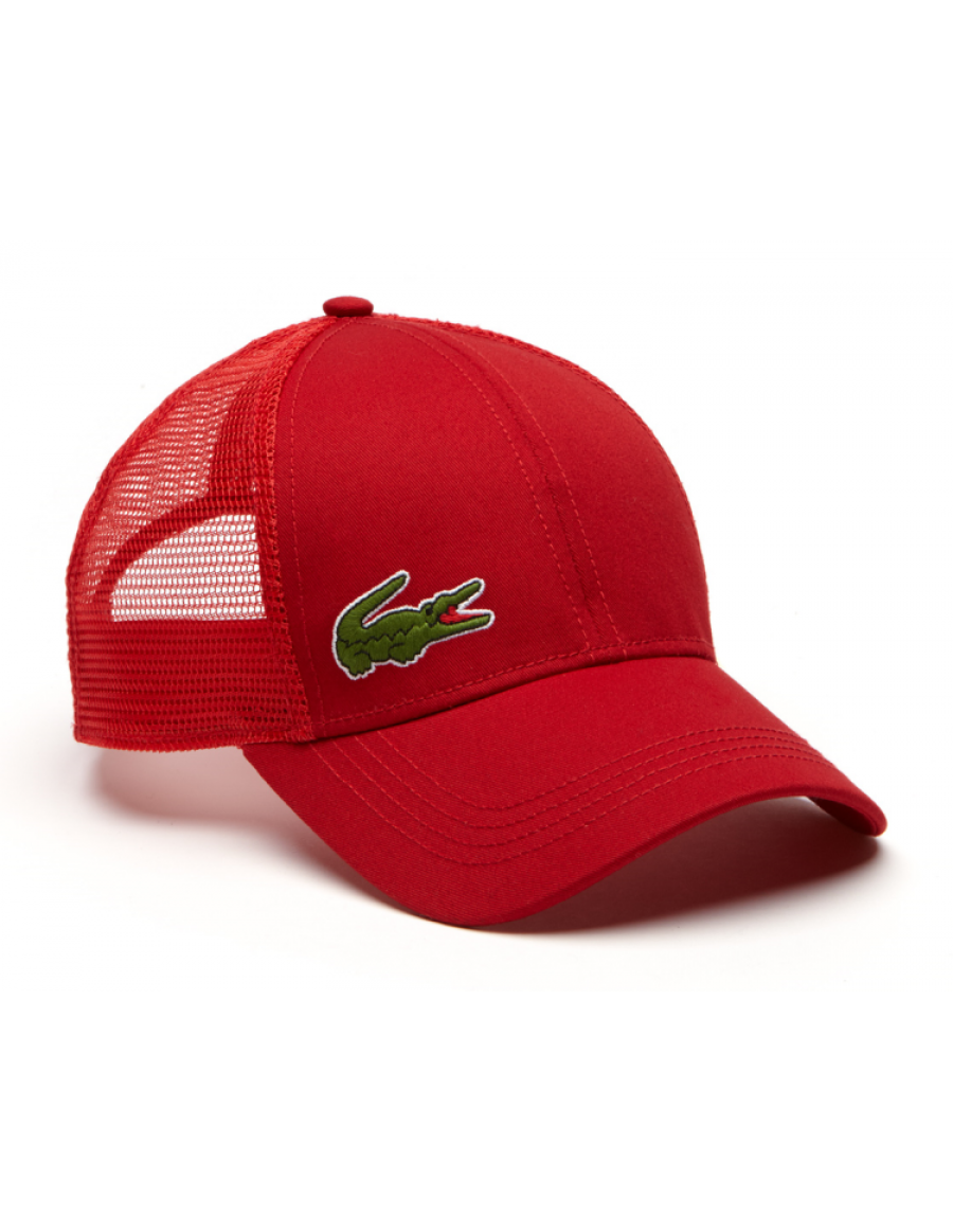 Lacoste pet - Trucker cap - red
