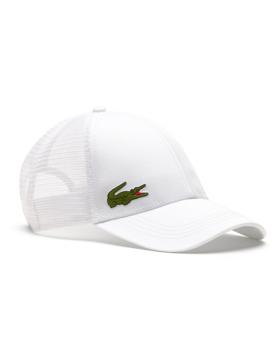 Lacoste pet - Trucker cap - white