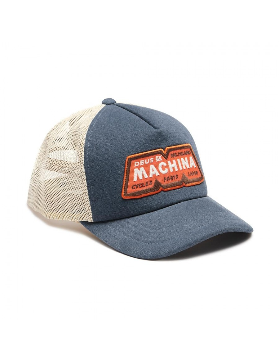 DEUS ex Machina Trucker cap - Dusty Blue