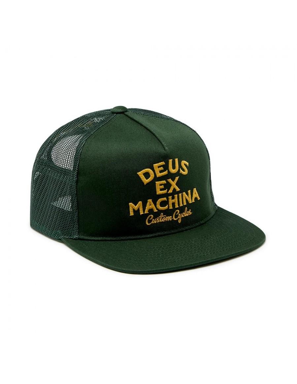 DEUS Moreno Trucker cap - Hunter Green