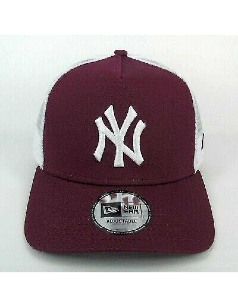 New Era Trucker cap NY New York Yankees - Maroon