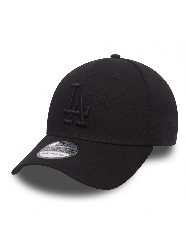 New Era 39Thirty Curved cap (3930) LA Los Angeles Dodgers - black black