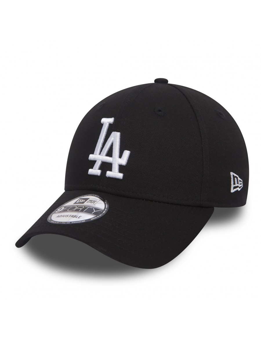 New Era 9Forty Curved cap (940) LA Los Angeles Dodgers - black white