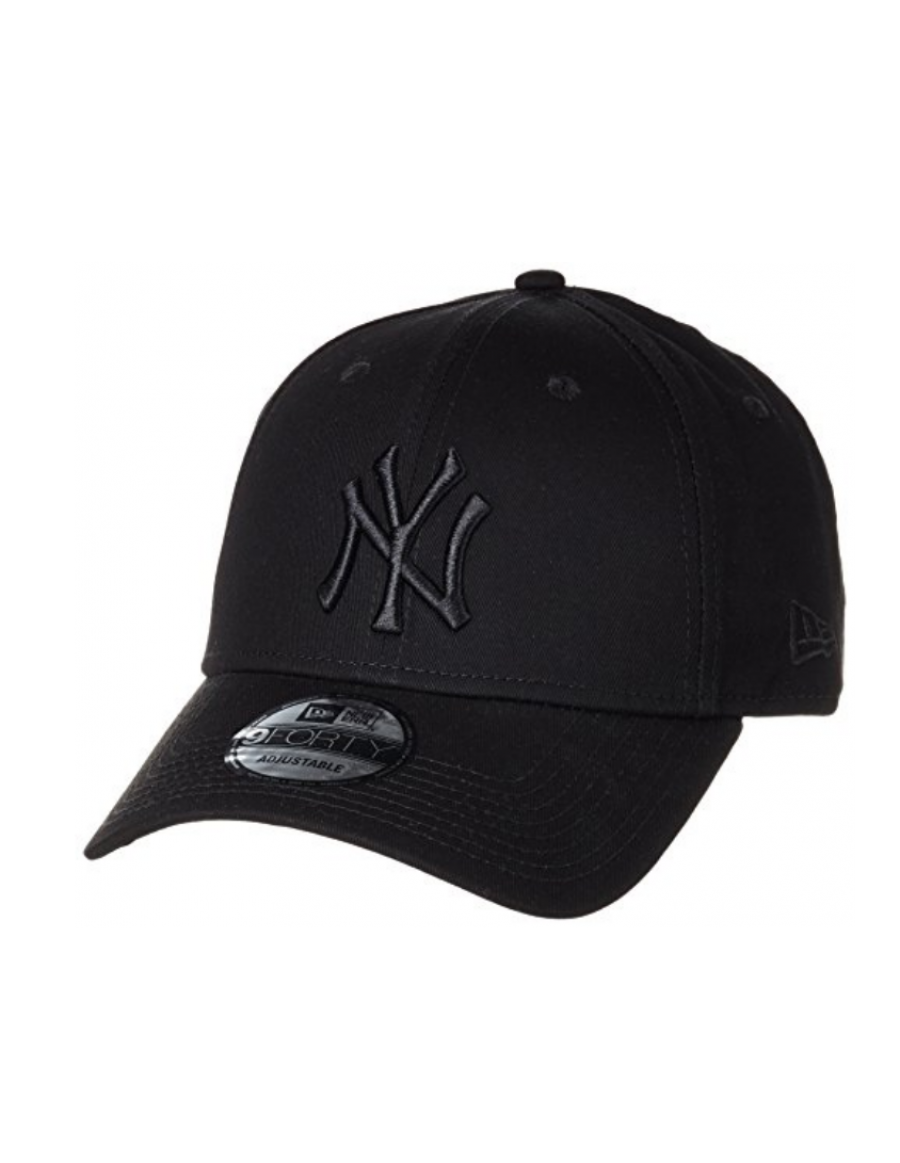 New Era 9Forty Curved cap (940) NY Yankees - Black on black