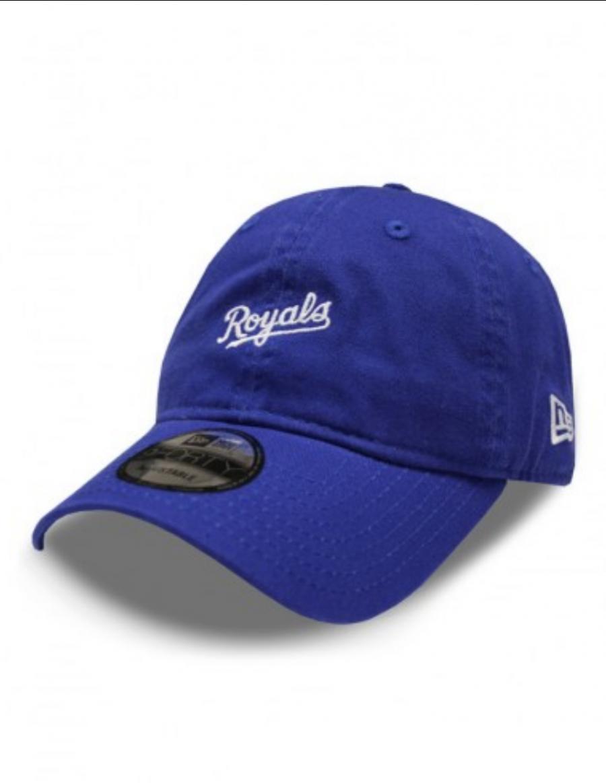 New Era 9Forty Mini Wordmark (940) Kansas City Royals blue - SALE