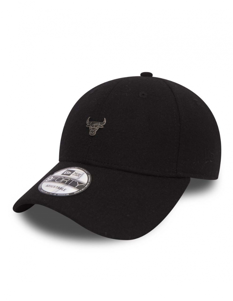New Era 9Forty Pin Badge (940) Chicago Bulls Black
