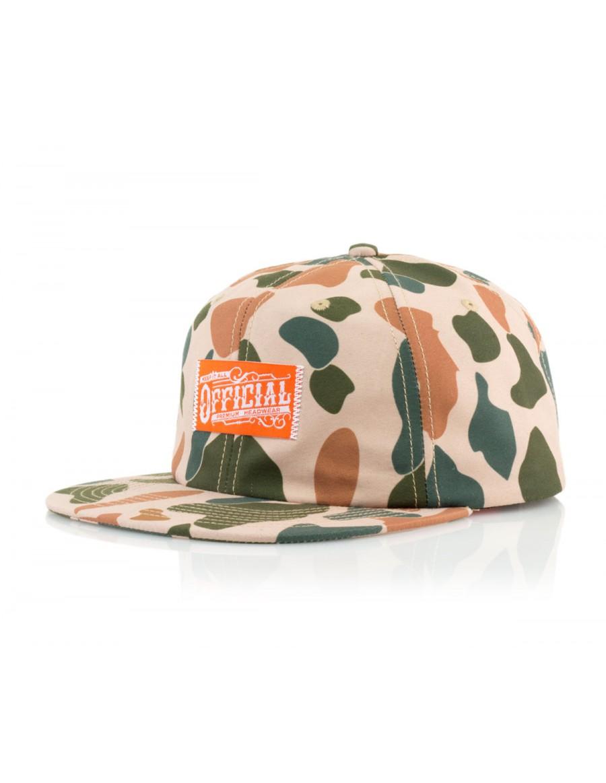 Official Cap Duckwear Snapback - camo