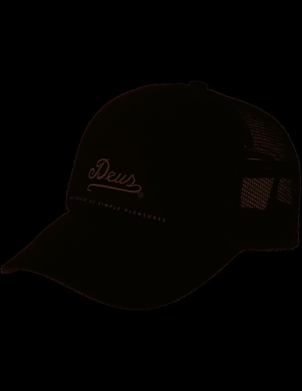 DEUS Peak Trucker pet - black