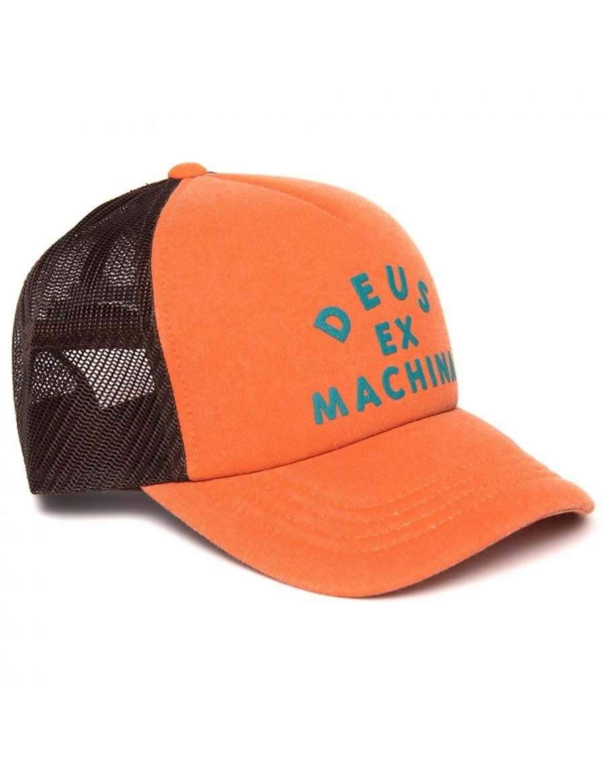 DEUS Roller Trucker cap - Poppy Orange
