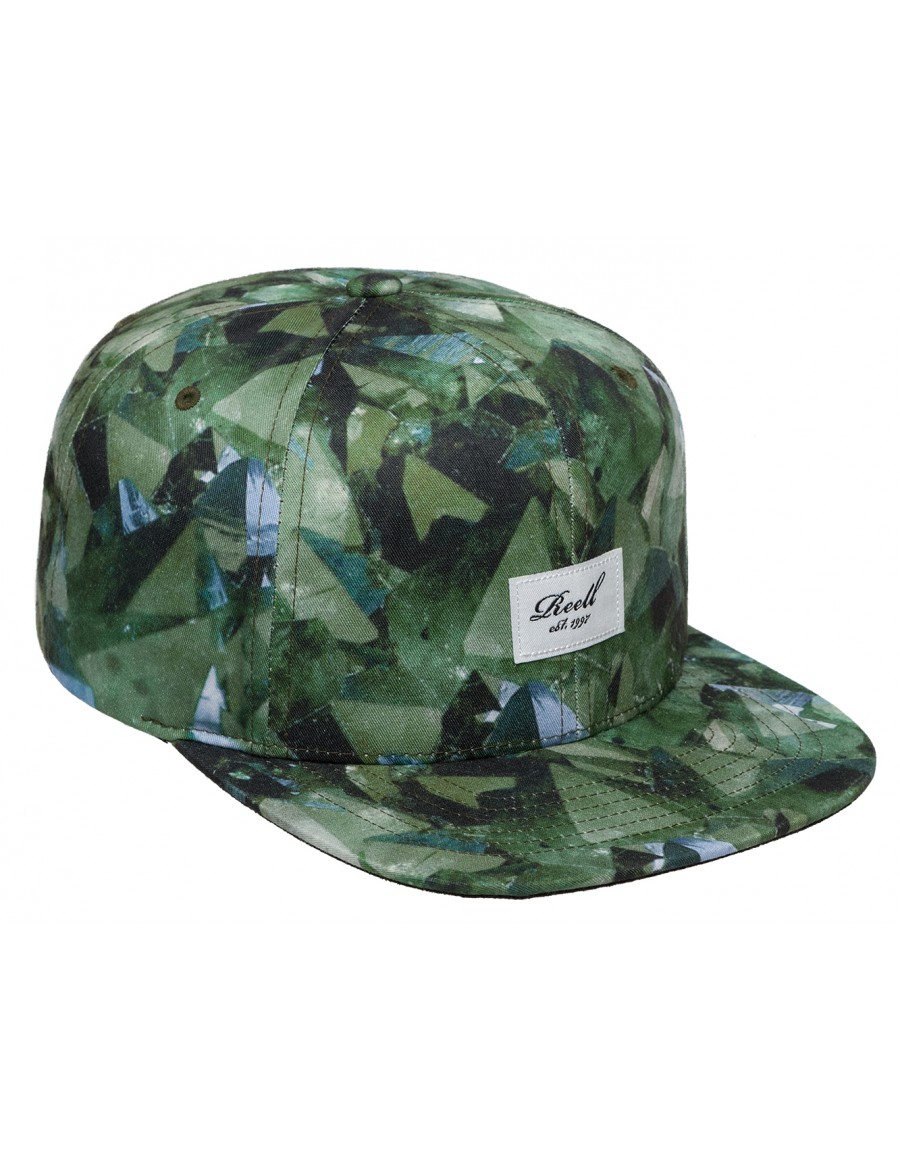 Reell 6 panel Crystal cap snapback - Sale