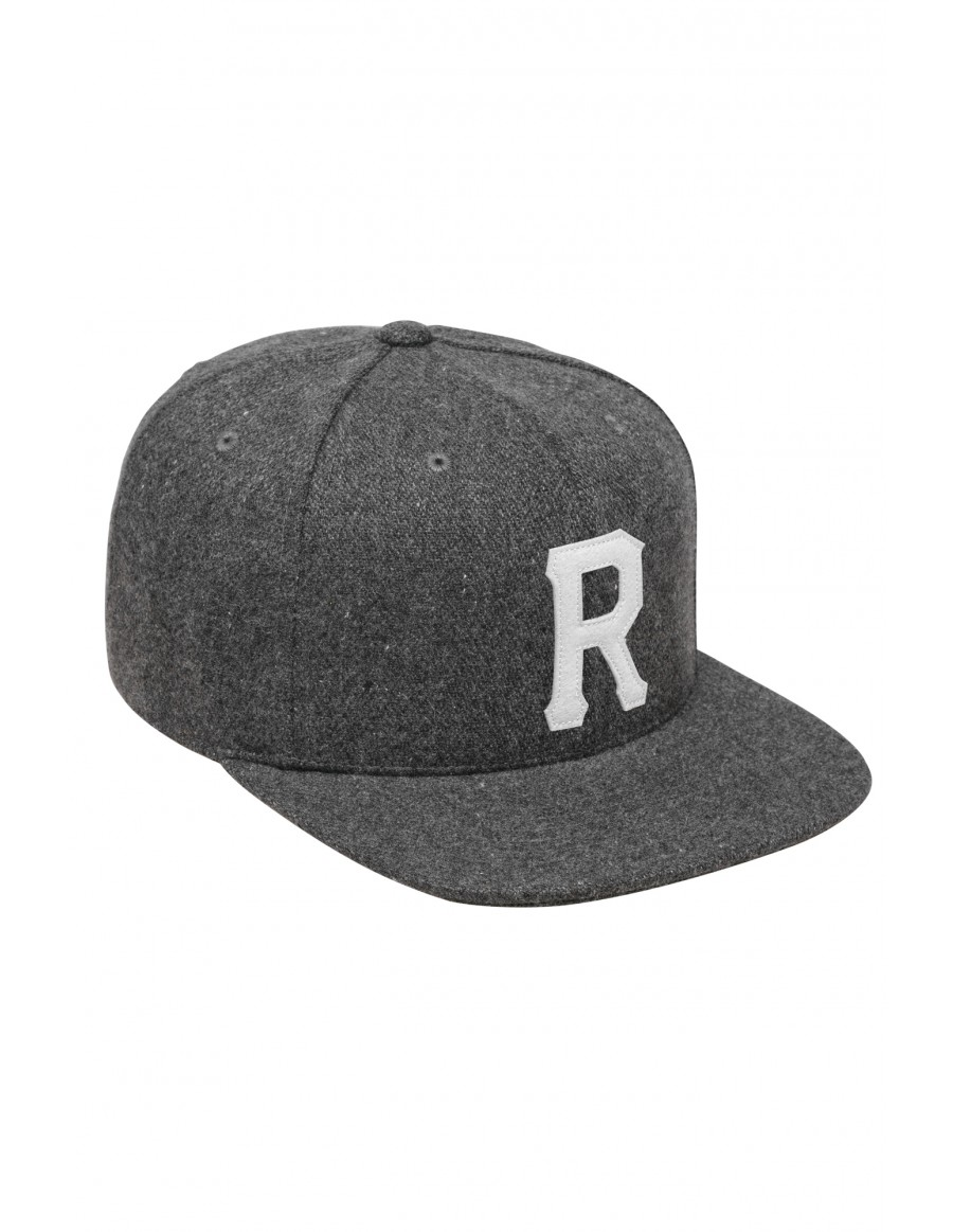 Reell 6 panel Homerun cap strapback grey