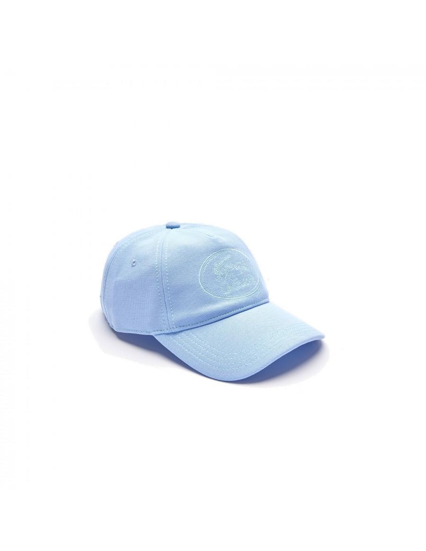 Lacoste cap - Round Crocodile Logo - Lightblue