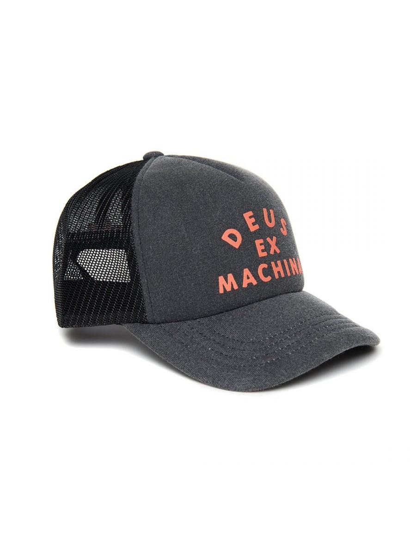 DEUS Roller Trucker cap - Black