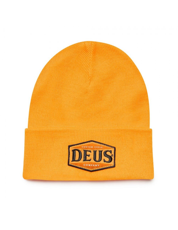 DEUS Service Beanie - Butterscotch Yellow