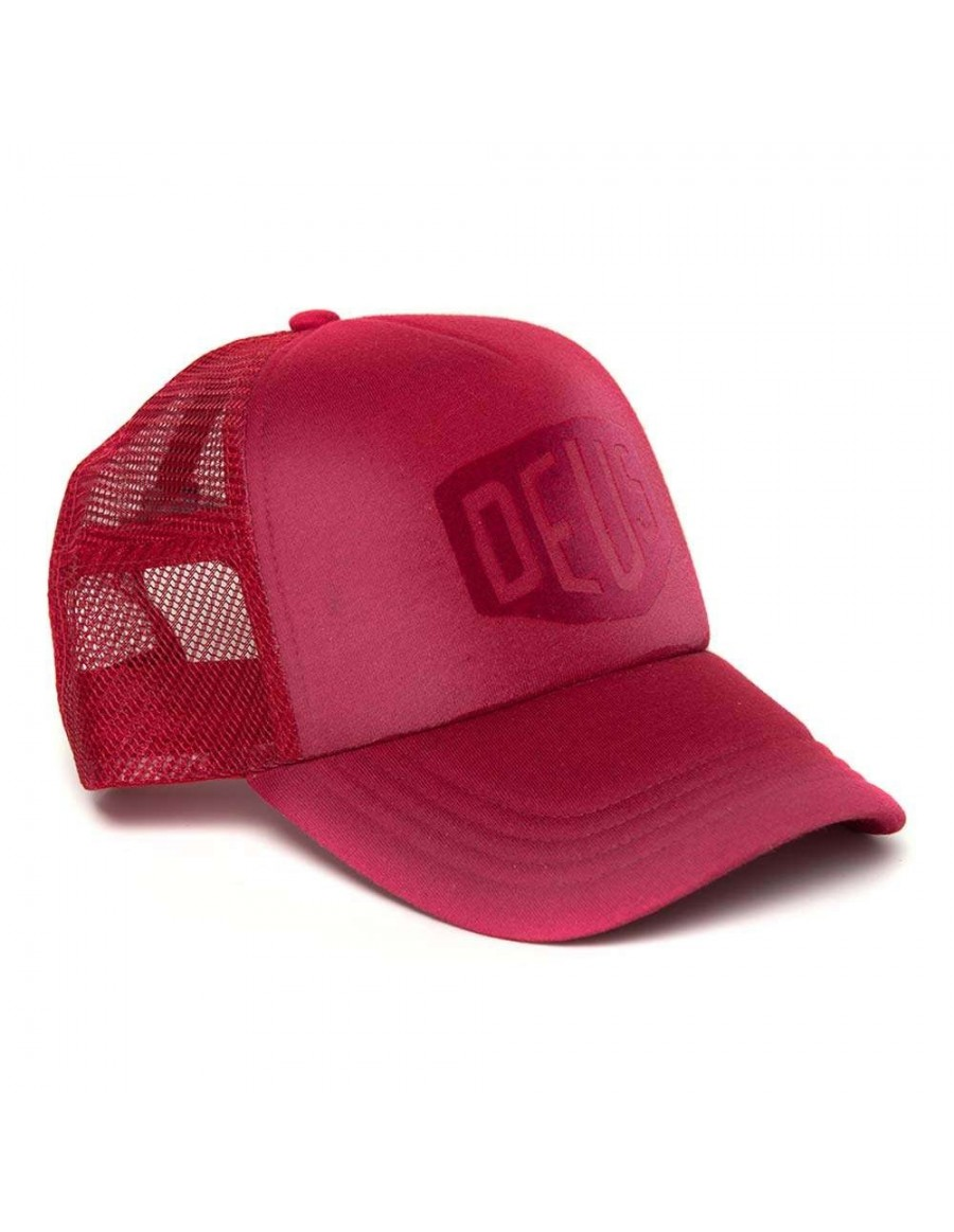 DEUS Sunny Shield Trucker cap - Burnt Red