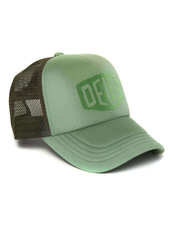 DEUS Sunny Shield Trucker cap - Moss Green