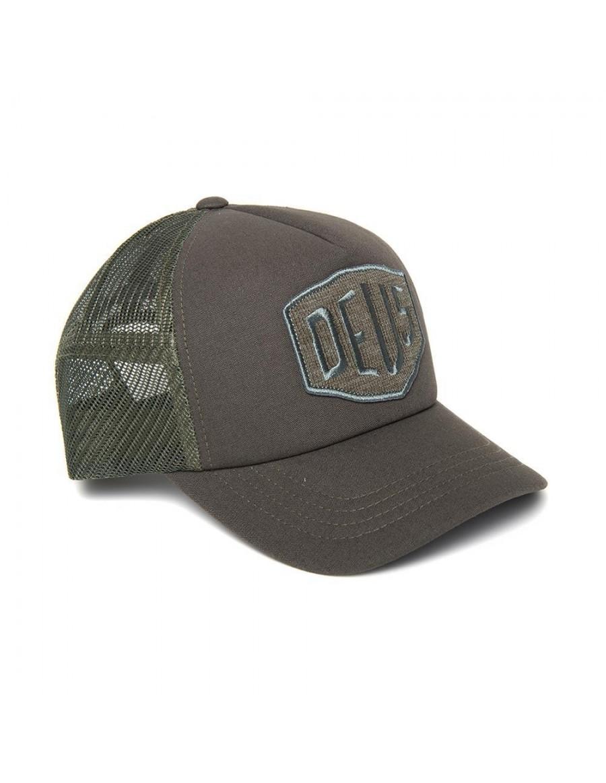 DEUS Terry Shield Trucker cap - Loden Green