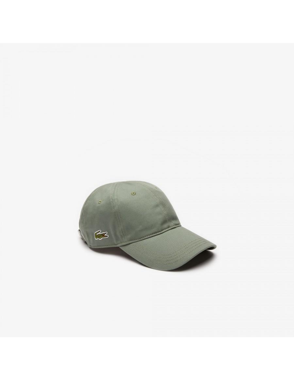 Lacoste pet - Gabardine cap - Vert Kaki