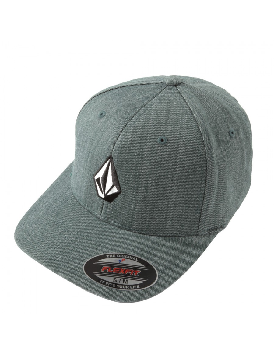 Volcom Full stone flexfit hat Grass Green