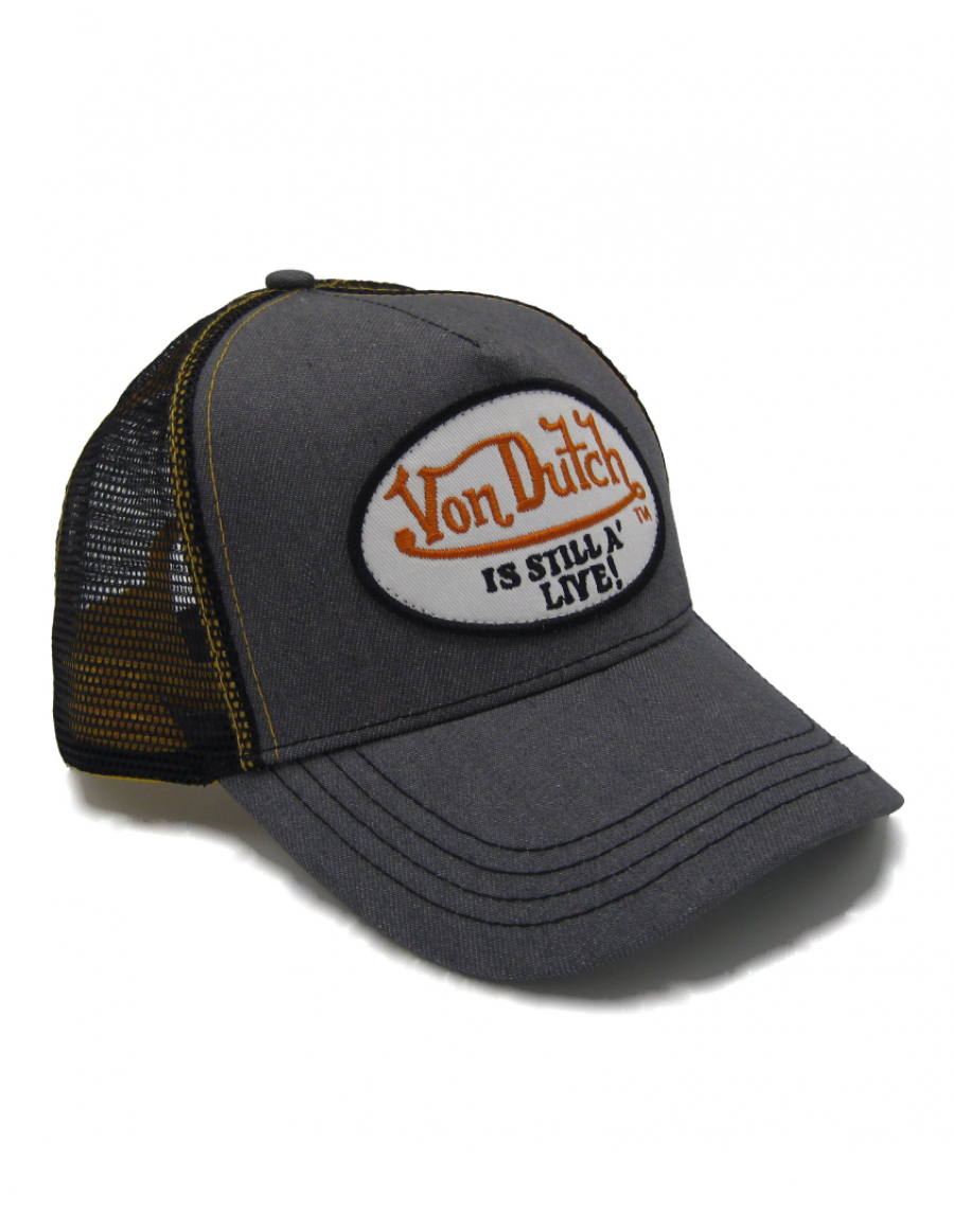 Von Dutch Still Alive trucker cap - grey white