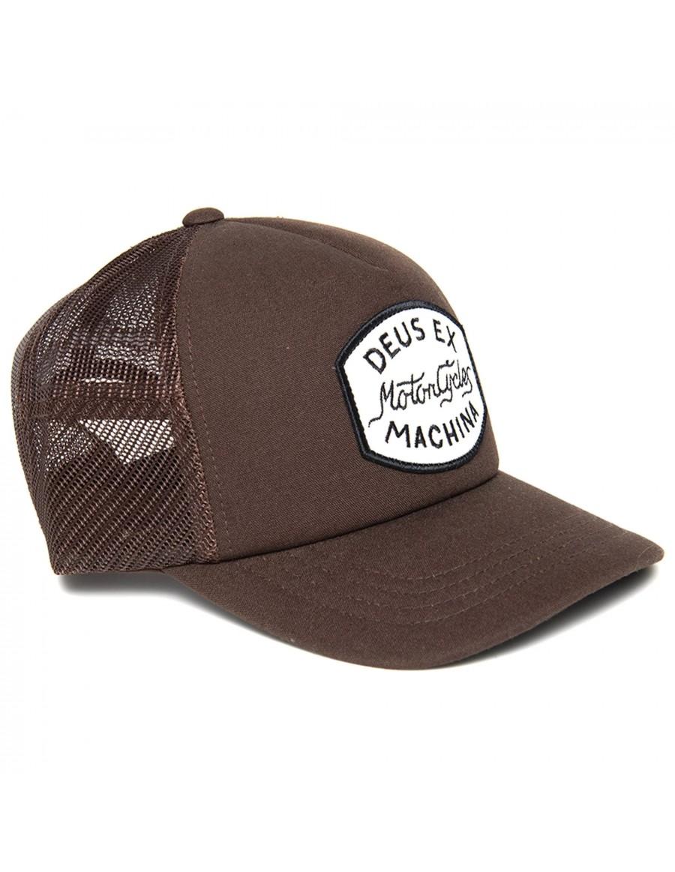 DEUS Vrod Trucker cap - Brown