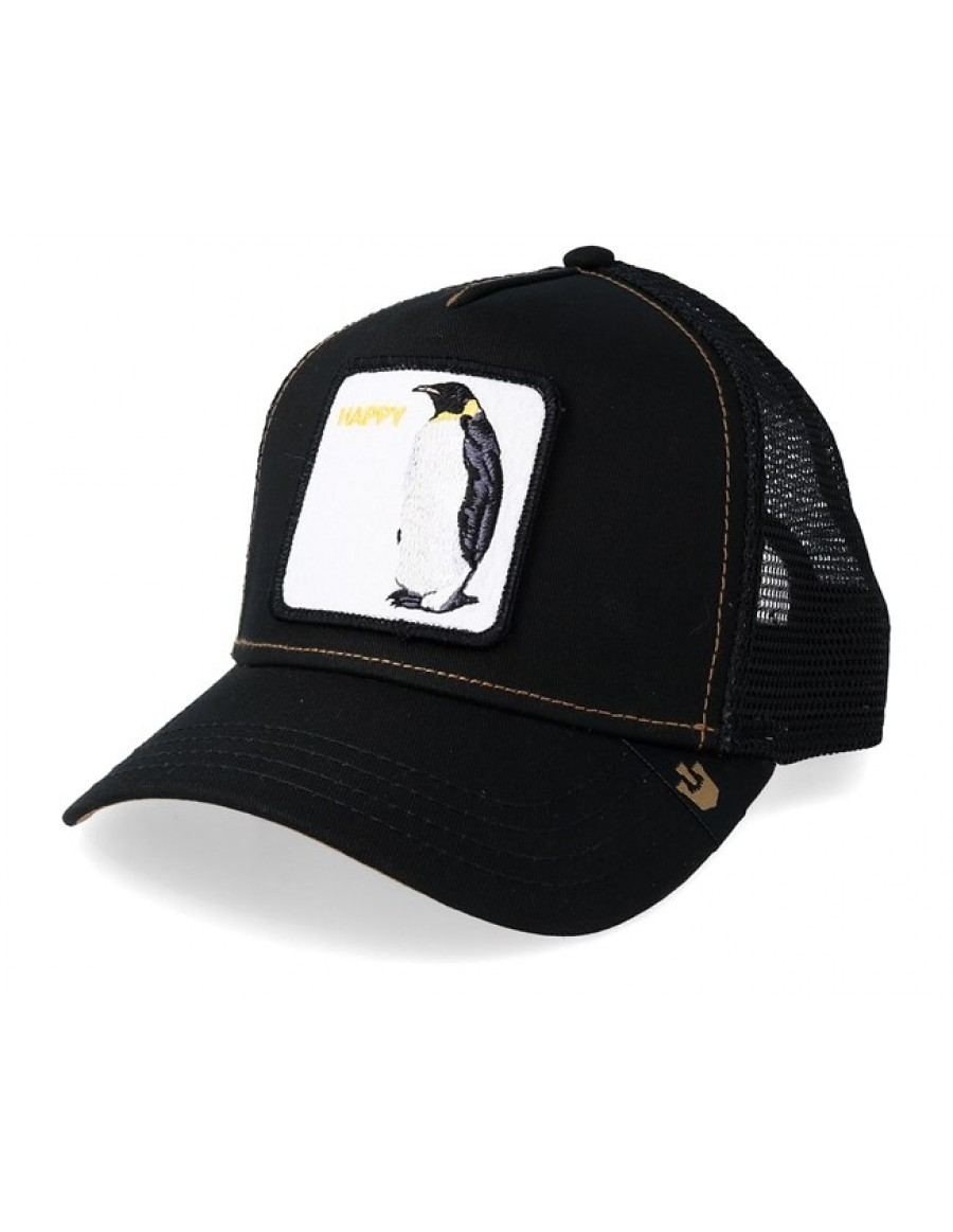 Goorin Bros. Waddler Trucker cap - Black