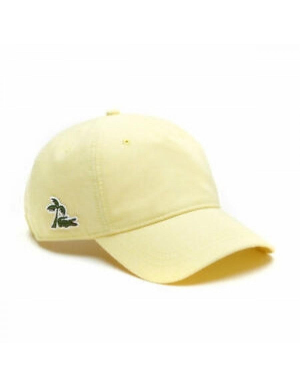 Lacoste cap - Palmtree - Yellow