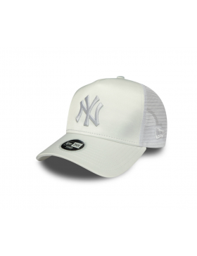 New Era MLB Satin Women's Trucker cap NY New York Yankees