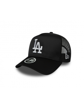 New Era MLB Satin Women's Trucker cap LA Dodgers