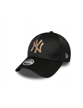 New Era MLB Satin Women's 9Forty cap NY New York Yankees - Black