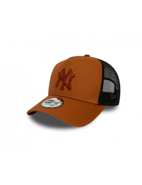 New Era Trucker cap NY New York Yankees - Orange
