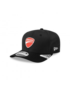 New Era 9Fifty Stretch Snap (950) Ducati Perf Badge - Black