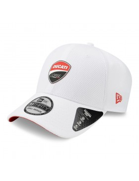 New Era 3930 Ducati Badge - White