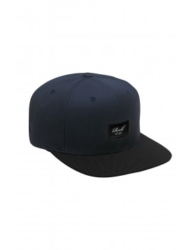 Reell 6 panel Pitchout snapback Dark Navy - Black