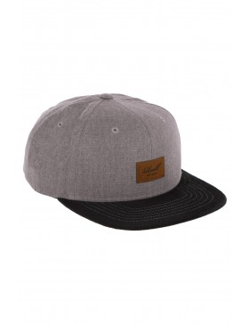 Reell 6 panel Suede cap Snapback Washed Brown