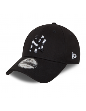 New Era 9Forty Camo Infill (940) NY Yankees - Black