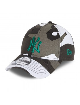 New Era 9Forty All over Camo (940) NY Yankees - Green