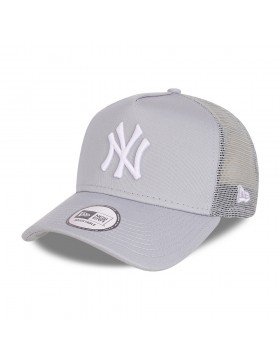 New Era Tonal Mesh Trucker cap NY Yankees - Gray