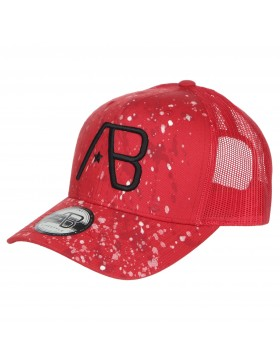 AB cap Retro Trucker - The Paint - Red
