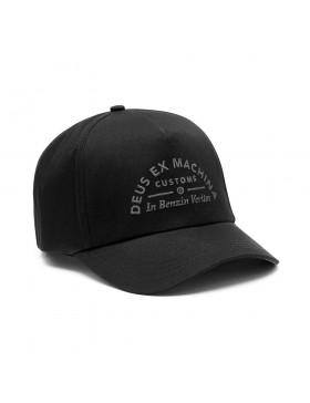 DEUS Benzin Trucker cap - Black