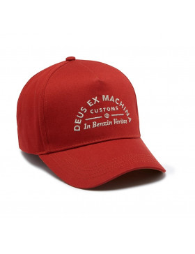 DEUS Benzin Trucker cap - Terracotta Red