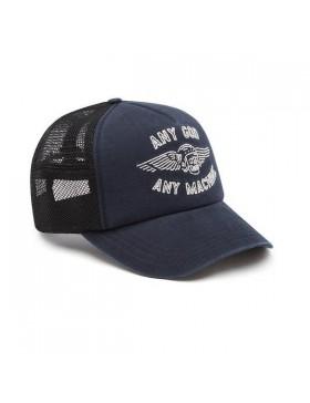 DEUS Brigade Trucker cap - Navy
