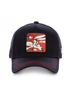 Capslab - Wile E. Coyote Trucker cap - Black
