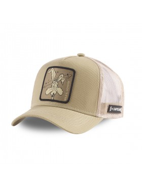 Capslab - Wile E. Coyote Trucker cap - Brown