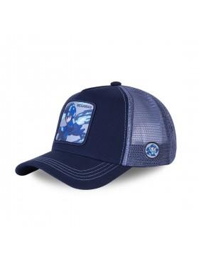 Capslab - Megaman Trucker cap - Blue
