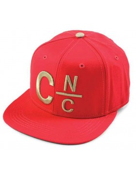 Crooks & Castles CNC snapback true red