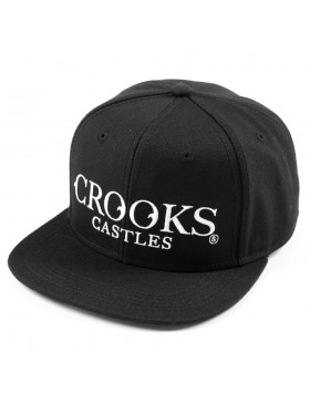 Crooks & Castles Crusades snapback black